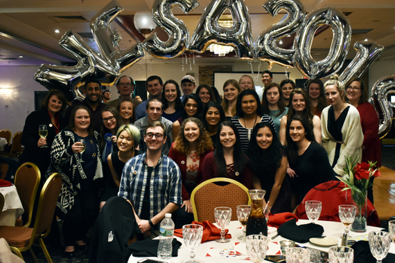 Photo: NESA 2018 Banquet.